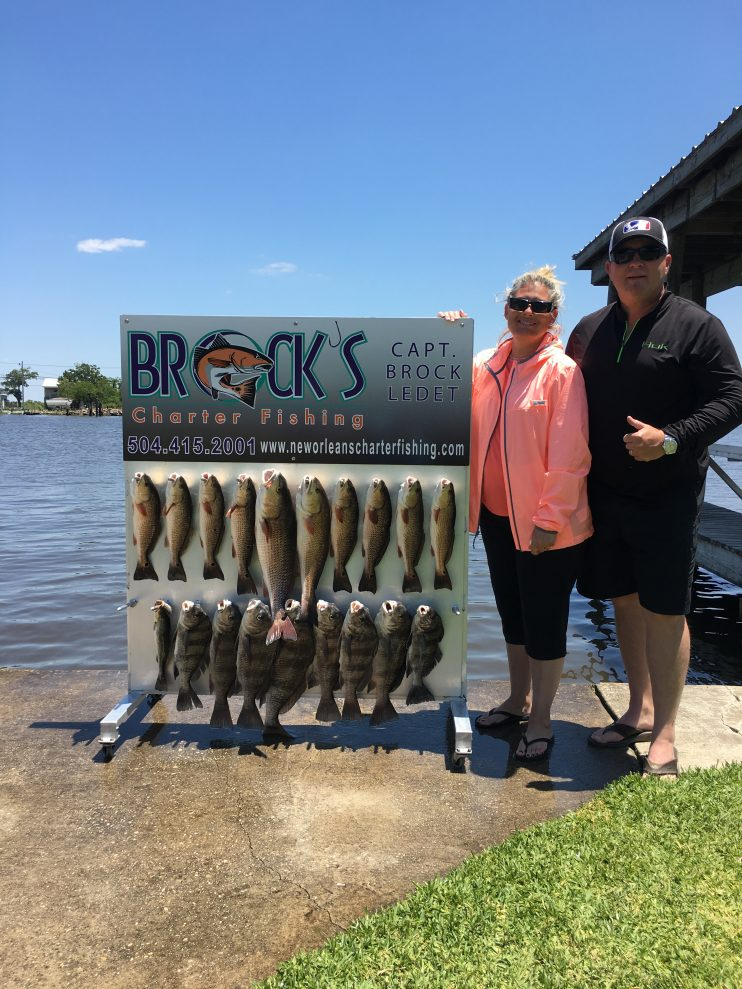 New orleans fishing charter with brock s charter fishing for New orleans fishing